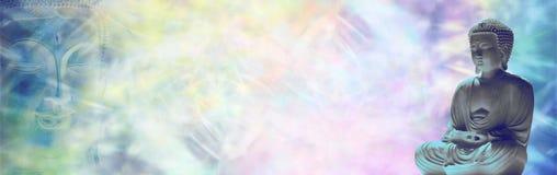 Free Buddha Mediation Website Banner Stock Images - 50109884