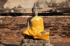 Buddha. Meditate Buddha in old city Stock Photography