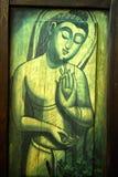 The Buddha meditating Royalty Free Stock Images