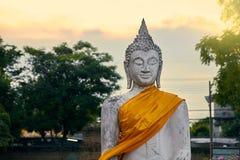 Buddha meditating Royalty Free Stock Images