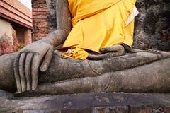 Buddha meditating Stock Photography