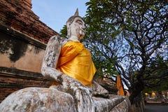Buddha meditating Stock Photo