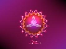 buddha meditation Fotografering för Bildbyråer