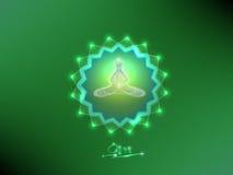 buddha meditation Arkivbilder