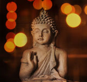 Buddha meditation closeup Royalty Free Stock Photography