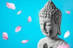 Buddha in meditation royalty free stock photos