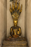 Buddha meditation over naga Royalty Free Stock Photo