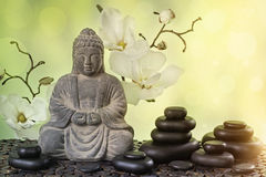 Buddha. In meditation, religious concept Stock Photography