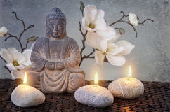 Buddha. In meditation, religious concept Stock Photos