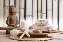 Buddha in meditation, religious concept Royalty Free Stock Photography