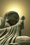 buddha meditationstaty Royaltyfria Foton
