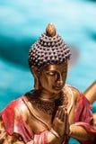 buddha meditera Arkivbilder