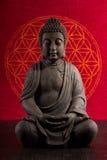 Buddha medytacja Obrazy Royalty Free
