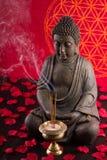 Buddha medytacja Fotografia Royalty Free