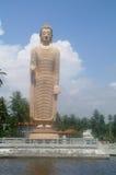 Buddha memorial of the tsunami flood Stock Photo
