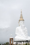 Buddha in the mist. Thailand royalty free stock images