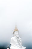 Buddha in the mist. Thailand Stock Images