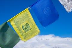 Buddha modlitwy flaga Fotografia Stock