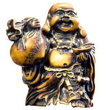 Buddha with money Royalty Free Stock Photos