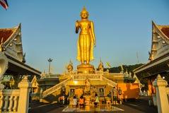Buddha Mongkol Maharaj HatYat Thailand stock photo