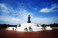 Buddha Monthon Phutthamonthon Lizenzfreie Stockfotos