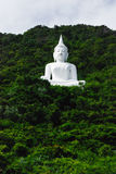 Buddha on the mountain Royalty Free Stock Photography