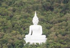 Buddha in the mountain at Saraburi province,Thailand Stock Image