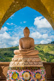Buddha on the mountain. Royalty Free Stock Image