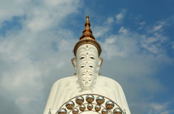 Buddha na montanha Foto de Stock