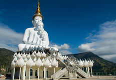 Buddha na on w Tajlandia Fotografia Royalty Free