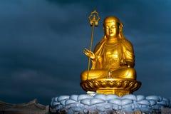 Buddha nachts lizenzfreies stockbild