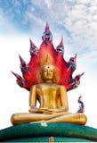 Buddha with naka Royalty Free Stock Photos