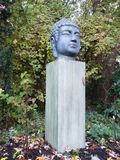 Buddha in nature royalty free stock photography