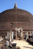 Buddha near Rankot Vihara Royalty Free Stock Images
