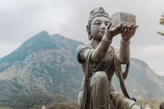 Hong Kong Buddha stock photography