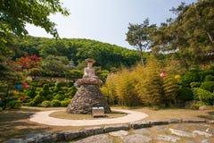 Buddha nel giardino Fotografia Stock Libera da Diritti