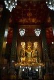 Buddha nel tempiale Fotografia Stock Libera da Diritti
