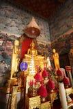 Buddha nel tempiale Immagine Stock