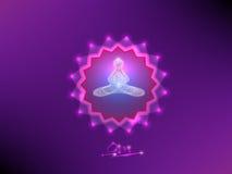 Buddha nella meditazione Fotografie Stock
