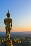 Buddha nella provincia di Nan, Tailandia Fotografia Stock