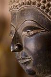 Buddha nero con il bello art. Immagini Stock Libere da Diritti