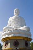 buddha nha statuy trang Vietnam Obraz Stock