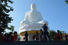 Buddha Nha Trang stockbild