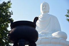 Buddha Nha Trang stockfoto