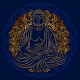 Buddha in nirvana Royalty Free Stock Photos