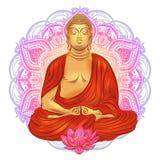 Buddha in nirvana Stock Image