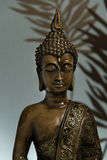 Buddha no azul imagem de stock