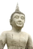 Buddha no fundo branco Fotografia de Stock Royalty Free