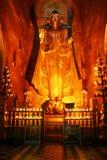 Buddha no templo antigo Imagem de Stock