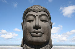 Buddha of the Northsea Royalty Free Stock Image